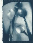 cyanotype sur papier japonais Taizan 30 g.